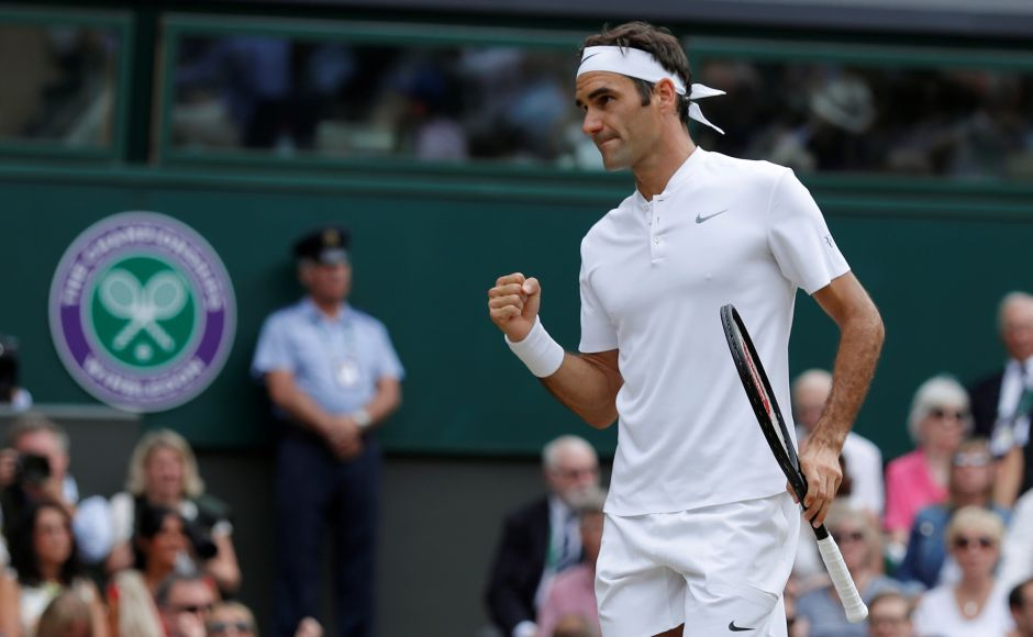 Federer then broke a nervous Cilic in the fifth game of the opening set. Reuters