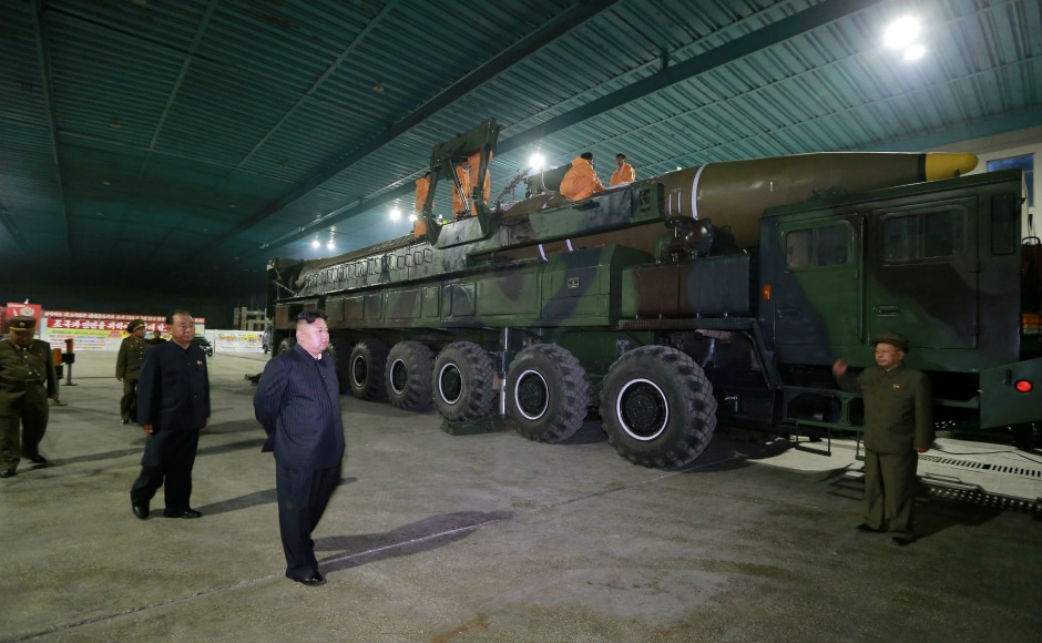 The launch was overseen by country's leader Kim Jong-Un, who has overseen three nuclear tests and multiple rocket launches. Reuters