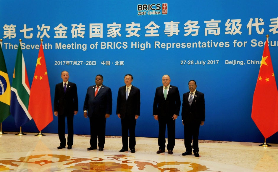 The seventh meeting of BRICS senior representatives on security issues was held in Beijing on 27-28 August. National Security Advisors (NSAs) from India, South Africa, Brazil and Russia attended the meeting. PTI
