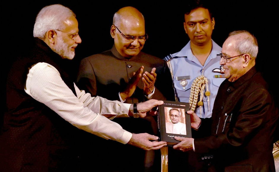 Modi praised Mukherjee for his guidance and said that he felt 'fortunate' that he could meet and freely talk with Mukherjee any time. PTI