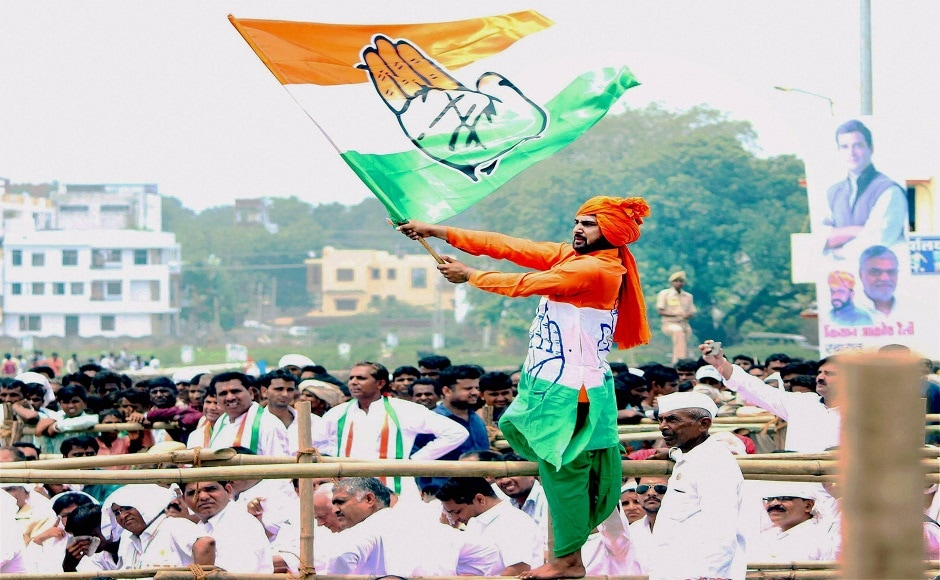 The Kisan Aakrosh rally was part of Rahul's visit to all the states that are slated to go to polls next year. State Congress chief Sachin Pilot, CP Joshi, Mohan Prakash, Girija Vyas, Mahendrajeet Singh Malvia and others also addressed the rally. PTI