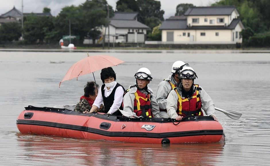 Over 12,000 police, rescue personnel and troops have been deployed in affected areas. Japan's deputy prime minister Tara Aso has said that the condition is extremely serious. AP