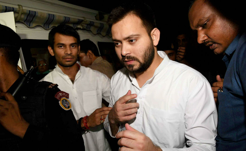 Kumar was under intense pressure to remove Tejaswi Yadav after his dubious dealings came to the fore following raids to his premises by CBI and ED. PTI