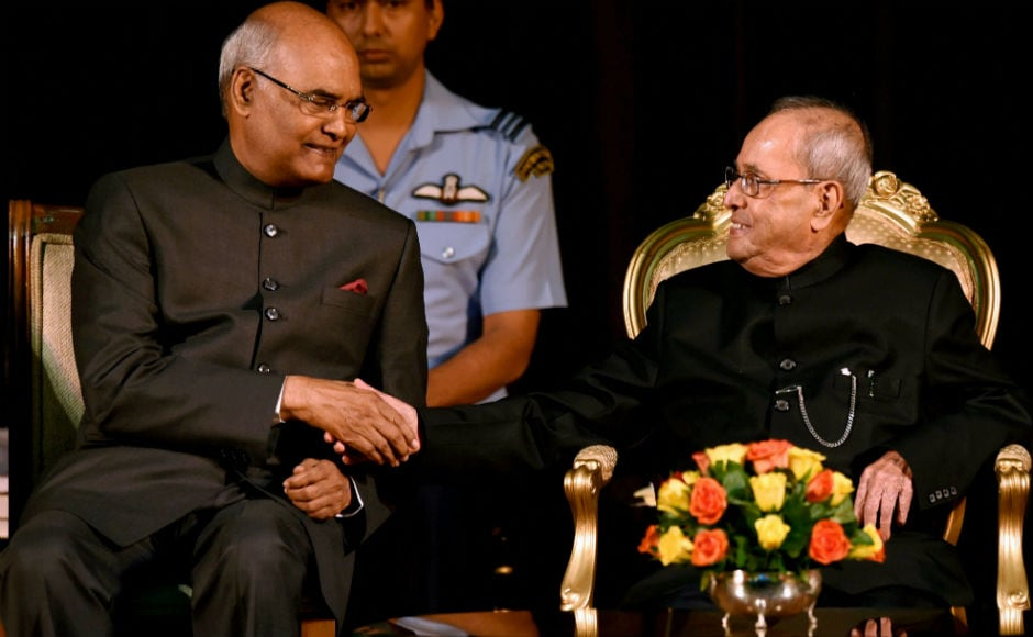 India's 14th president Ram Nath Kovind will take oath on Tuesday at a ceremony in the Central Hall of Parliament. PTI