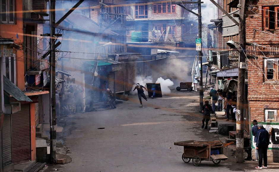 The clash comes two days after seven Amarnath pilgrims were killed and nineteen others were injured in a terror attack in Anantnag. Reuters