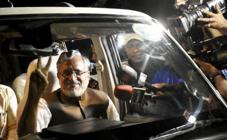 BJP's Sushil Kumar Modi will swear-in as deputy chief minister while Nitish Kumar will take oath as state's chief minister on Thurday. A floor test in the Bihar Assembly will be held on Friday, sinceBihar governor has given Nitish two days from Wednesday to prove majority. PTI