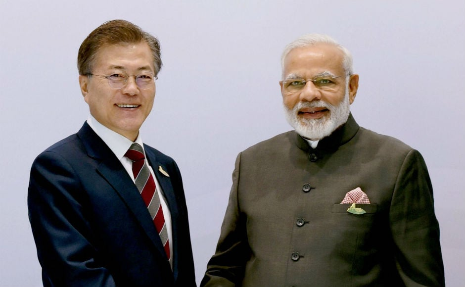Modi also held bilateral meetings on the sidelines of the G20 Summit in Hamburg. PTI