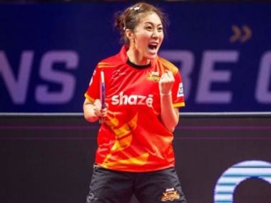 Han Ying of Shaze Challengers. Image courtesy: Ultimate Table Tennis