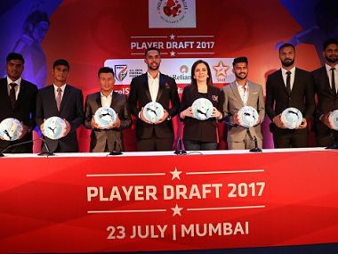 Newly drafted players in Indian Super League. Photo Courtesy: ISL/Twitter