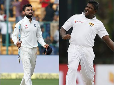 Live India vs Sri lanka 2017, 1st Test, Day 1, Cricket Score and updates: Dhawan notches up 150