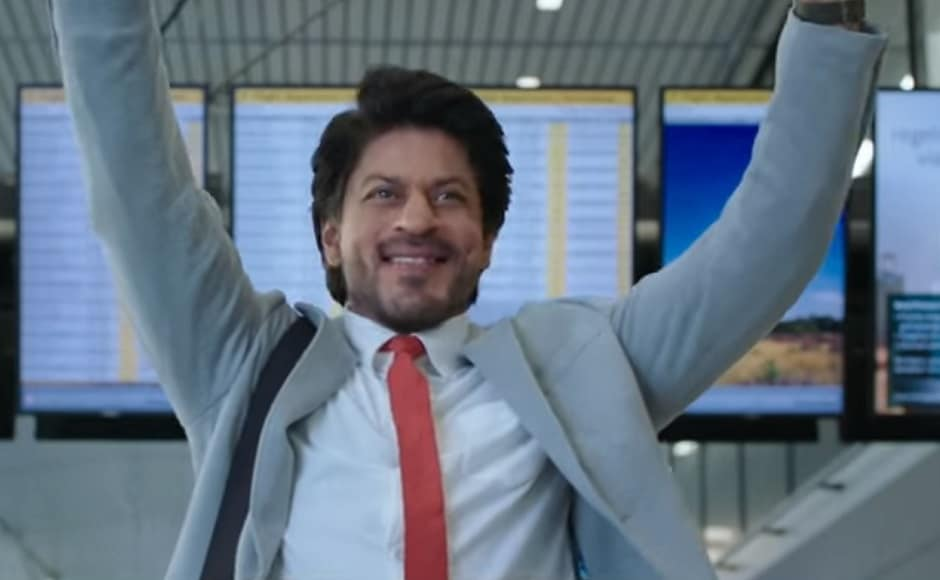 Shah Rukh Khan in a still from the trailer. Youtube screengrab