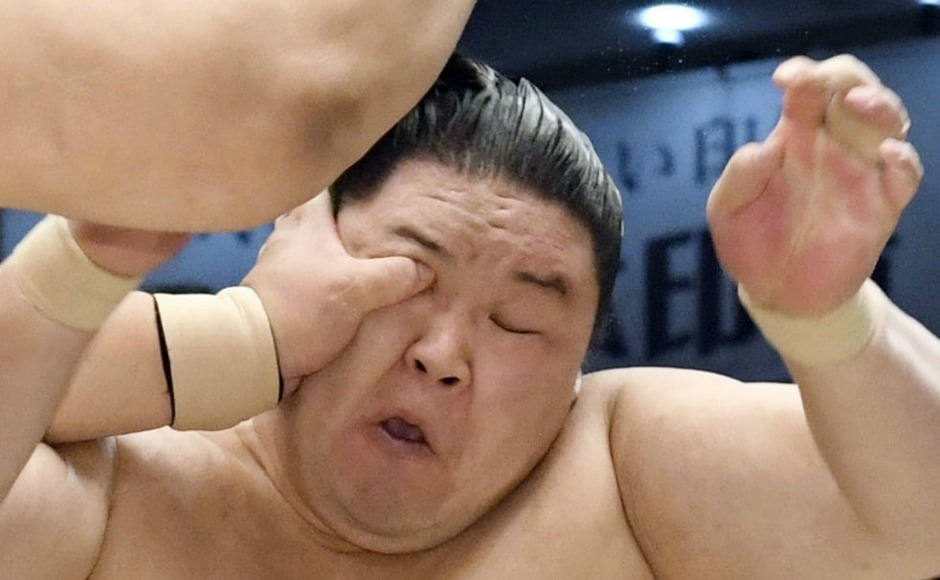 This is one of the six annual sumo tournaments which takes place every two months in Japan.Fukuoka, Osaka, and Nagoya host one tournament every year while Tokyo hosts three. AP