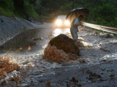 Over 20 people have been killed due to floods in Japan. Reuters