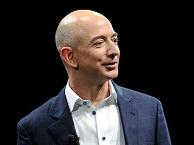 Amazon CEO Jeff Bezos is the world's richest man; Bill Gates comes at the second spot
