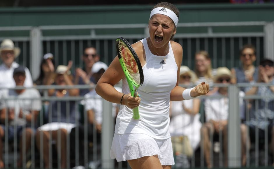 Jelena Ostapenko needed eight match points to reach the quarterfinals beating beat fourth-seeded Elina Svitolina. AP
