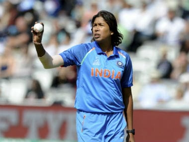 Jhulan Goswami to be felicitated with cash award of Rs 10 lakh by Cricket Association of Bengal
