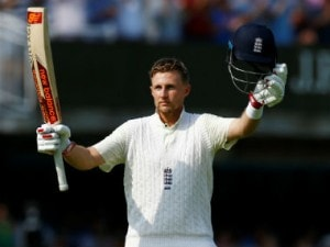Joe Root remained unbeaten on 184 off 227 balls at the end of Day 1 of the Lord's Test. Reuters