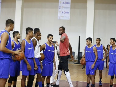 NBA star Kevin Durant visited India on Friday. NBA India