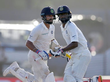 India vs Sri Lanka: Virat Kohli, Abhinav Mukund help visitors seize control of 1st Test