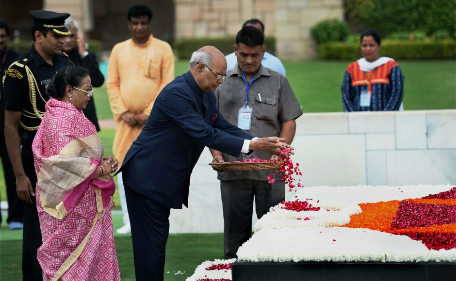 Talking about the country's future, Kovind said that India must combine tradition and technology, the wisdom of an age-old Bharat and the science of a contemporary era. PTI