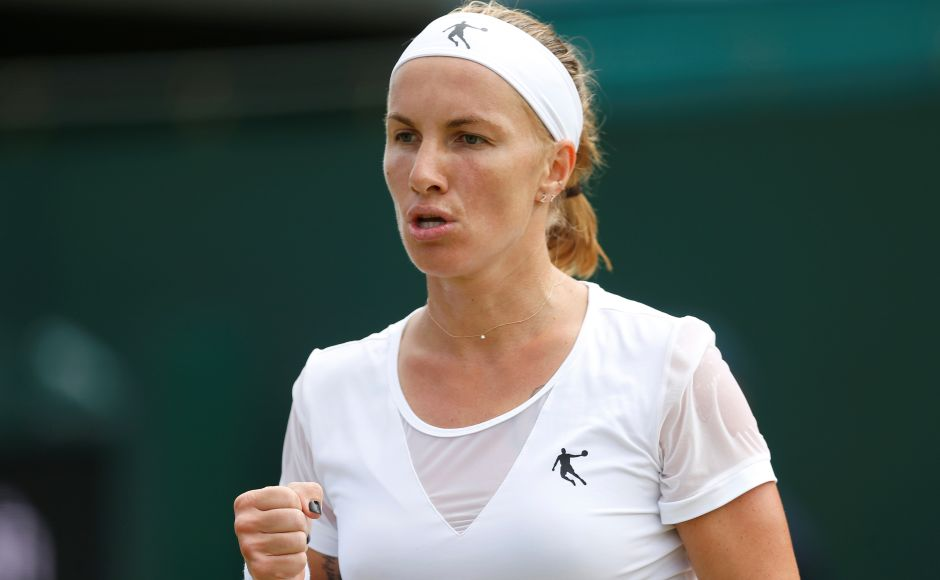 Russian eighth seed Svetlana Kuznetsova eased past Slovenian qualifier Polona Hercog. Reuters