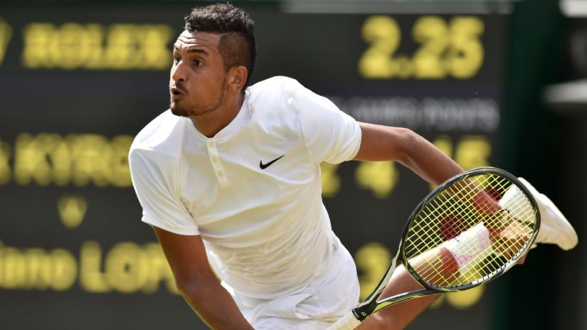 Will Kyrgios deliver on his audacious talent. AFP