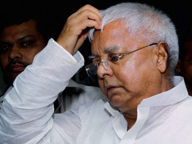 File image of RJD chief Lalu Prasad Yadav. PTI