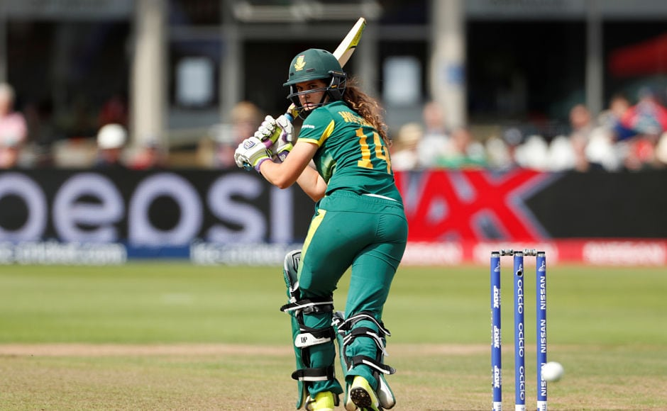 Laura Wolvaardt scored 66 runs and helped South Africa lay a solid foundation. Reuters
