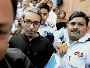 A file image of JNU vice-chancellor Jagadesh Kumar. PTI