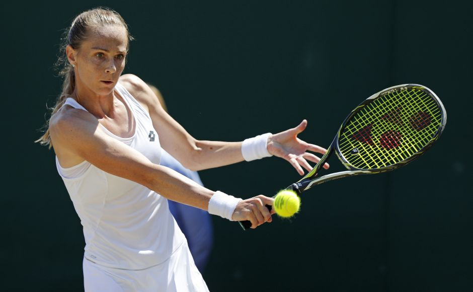 Magdalena Rybarikova, who missed nearly seven months after last year's Wimbledon because of injuries, beat Petra Martic after upsetting Karolina Pliskova in the second round. AFP