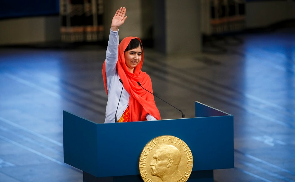 Yousafzai also became the youngest person to to win the Nobel Peace Prize in 2014 at the age of 17. She shared the award with award with Kailash Satyarthi, a child's rights activist. Reuters