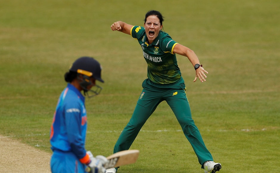 India lost the services of Smriti Mandhana early in pursuit of 274 as Marizanne Kapp dismissed her for 4. Reuters