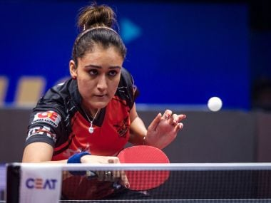 File image of Manika Batra. Image Courtesy: UTT