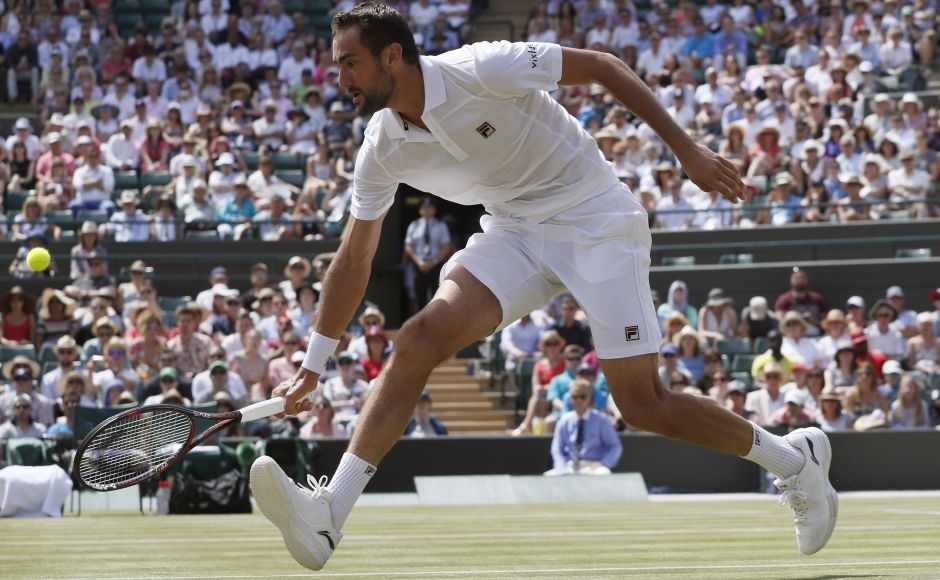 Marin Cilic, advanced to the fourth round by beating Steve Johnson and will next face Roberto Bautista Agut. AP
