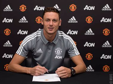 Nemanja Matic signed for Manchester United for a reported fee of £40 million