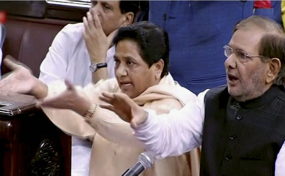 The Monsoon Session of the Parliament began on a stormy note with BSP supremo Mayawati resigning from the Rajya Sabha protesting against Dalit atrocities across India. PTI