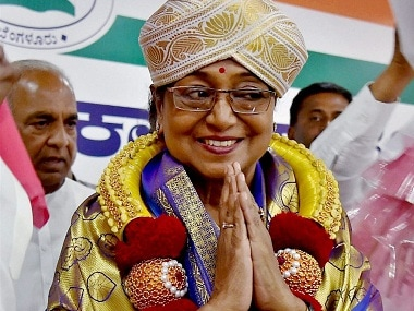 UPA Presidential candidate Meira Kumar is the bone of contention in Tripura. PTI