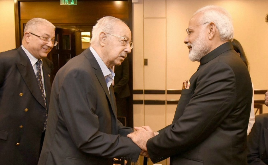 During the ceremony, Narendra Modi met with Eliyahu Bezalel, Sheikh Ansari and Dr. Lael Anson Best, recipients of the Pravasi Bharatiya Samman. Bezalel was the first Israeli of Indian origin to receive the award in 2005. Ansari, who manages the Indian Hospice in Jerusalem, was honoured with the award in 2011, while Best, an accomplished cardiothoracic surgeon, received the award in 2017. PTI