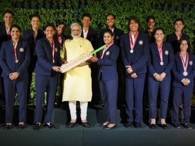PM Narendra Modi hosts India women's cricket team, lauds them for making the nation proud