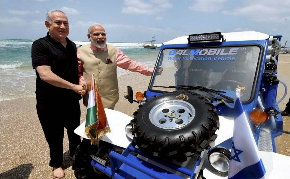 Prime Minister Narendra Modi completed his historic three-day visit to Israel on Thursday.