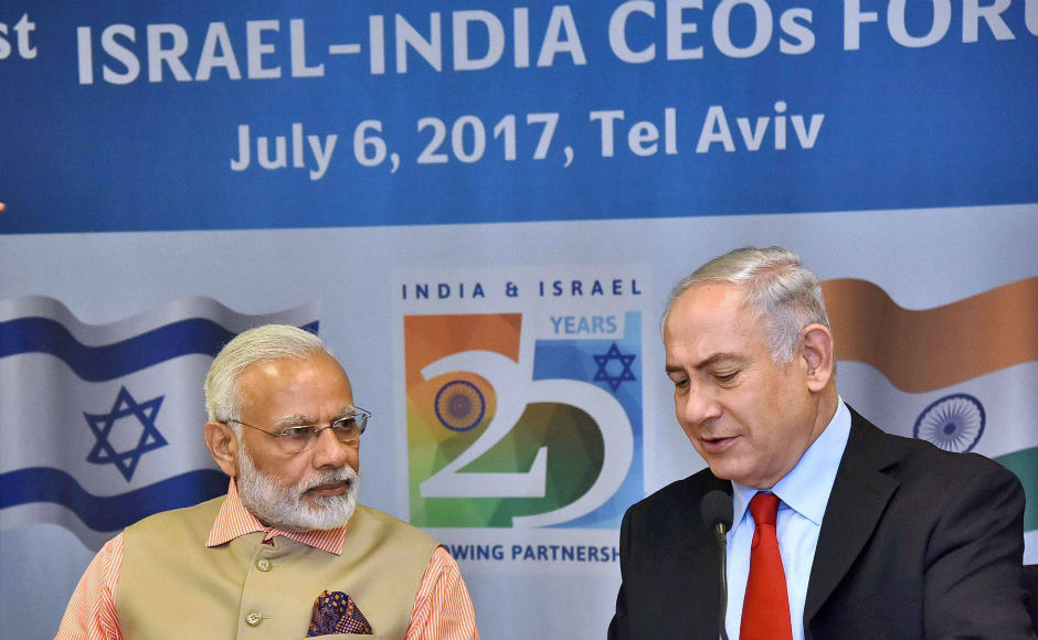 Modi and Netanyahu attended a CEO summit, where Memorandums of Understanding worth over $5 billion were signed between India and Israel. PTI