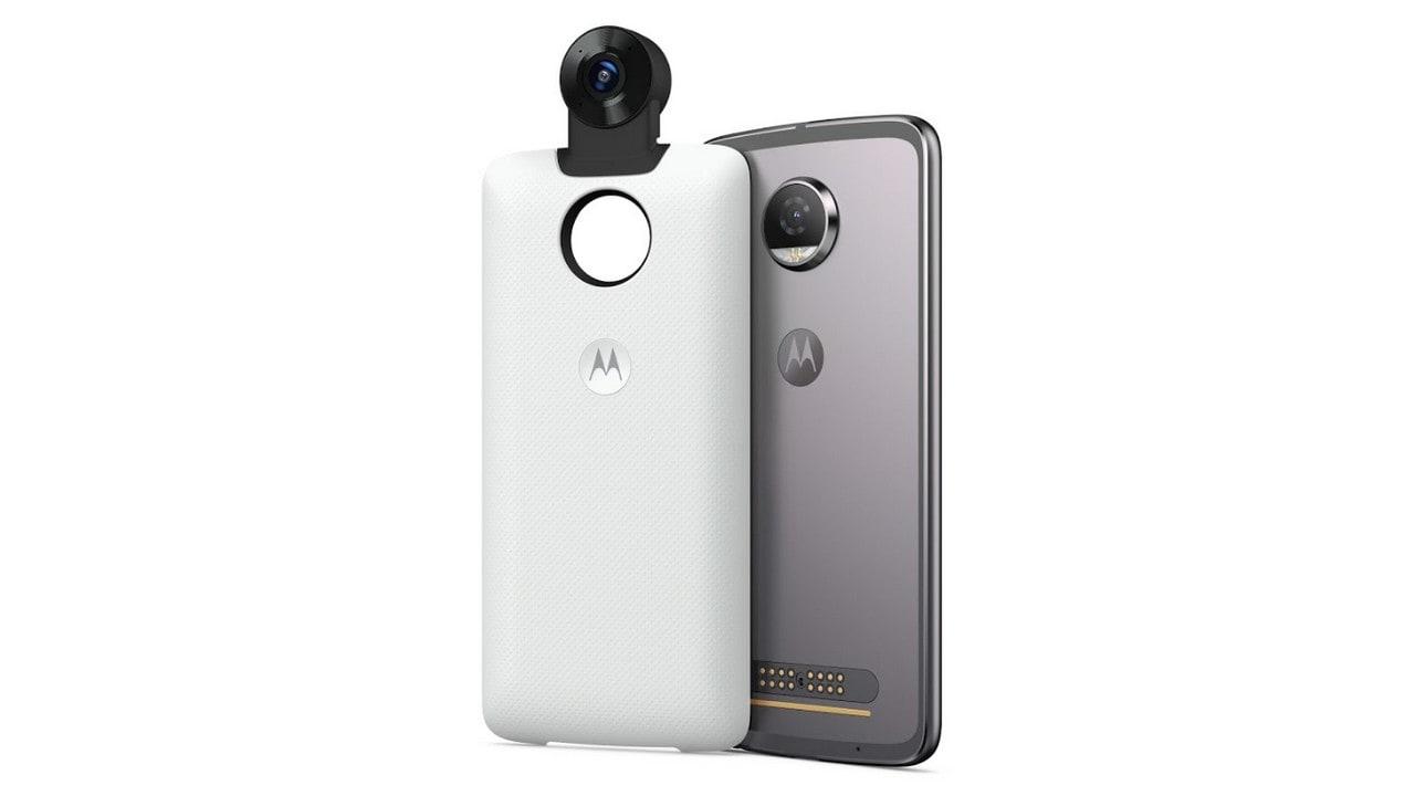 The new Motorola Moto 360 Camera Mod.
