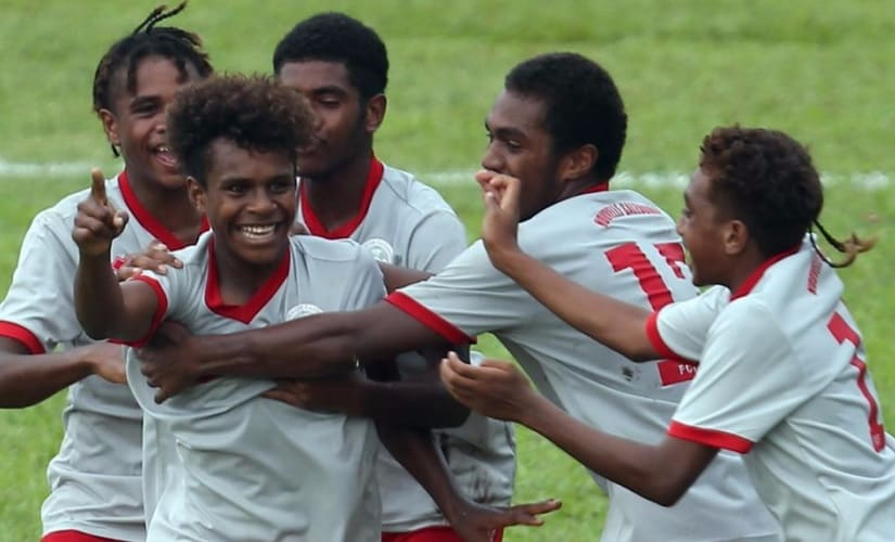 This is the first time New Caledonia have qualified for a FIFA tournament in any age group. Image courtesy: OFC