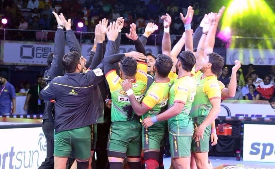 Patna Pirates kick-started their title defence with a win that showed nothing has changed for the team since last year's successful campaign. Image Courtesy: www.prokabaddi.com