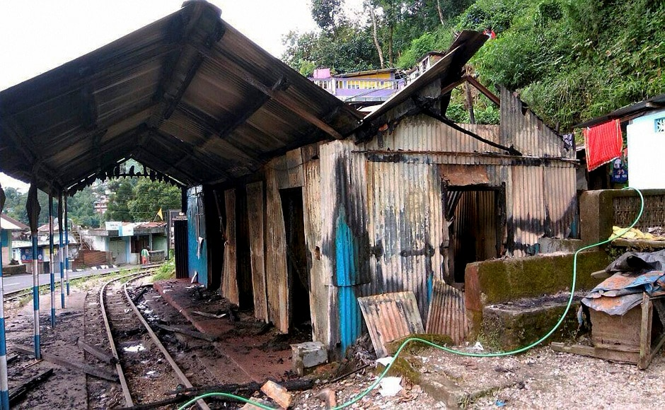 On Thursday, GJM supporters burned a railway station in Gayabari area of Kurseong, a police outpost in Sukhiapokhri, and a state-run library in Mirik sub-divison. PTI