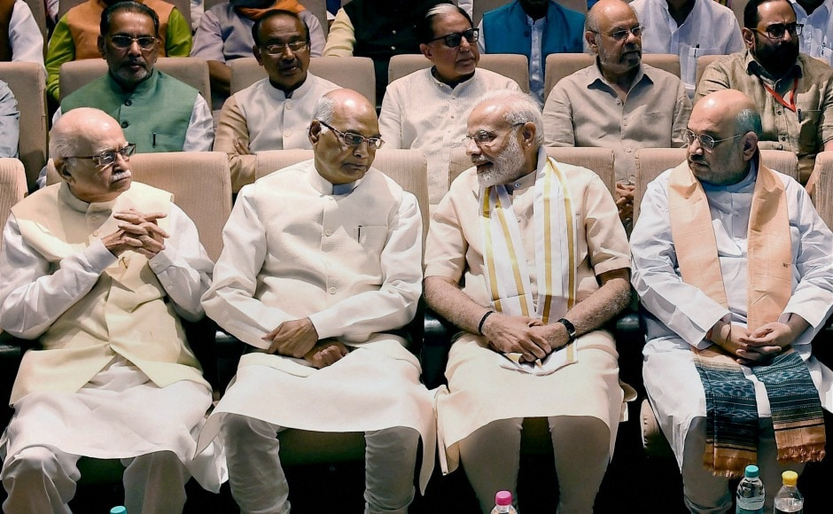 Welcoming Ram Nath Kovind to the NDA meeting, Prime Minister Narendra Modi congratulated Kovind 'in advance', on the eve of presidential election. PTI