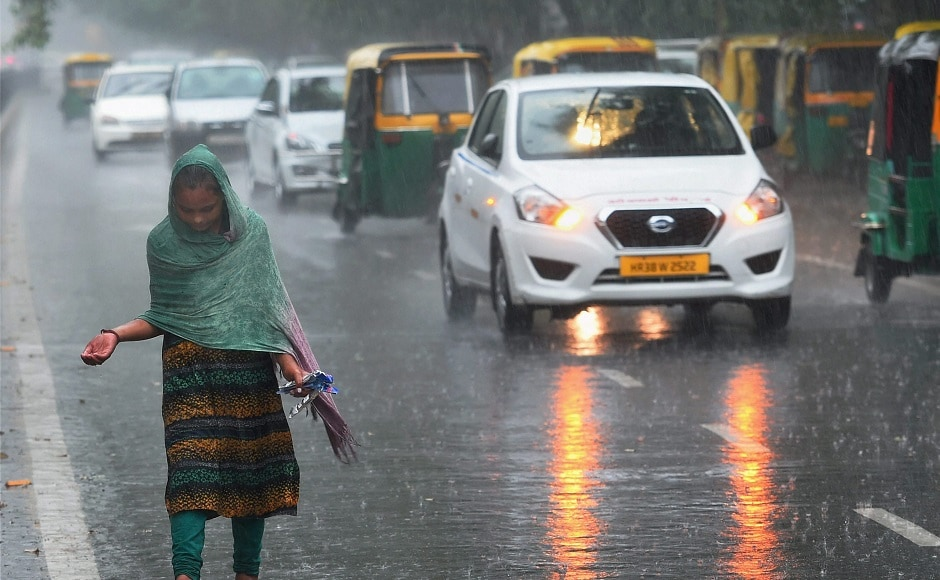 IMD has warned of heavy rainfall in next 48 hours around parts of Delhi-NCR which will keep temperatures below normal. PTI