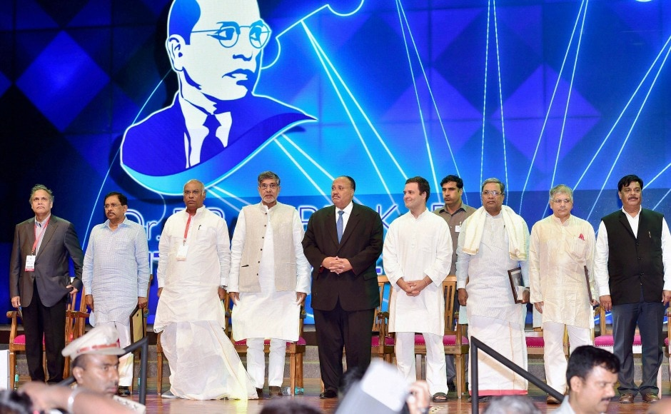 The conference, which had a theme 'Quest for Equity', was attended by dignitaries such as Martin Luther King III, Kailash Satyarthi, Prakash Ambedkar, and Rahul Gandhi among others. PTI