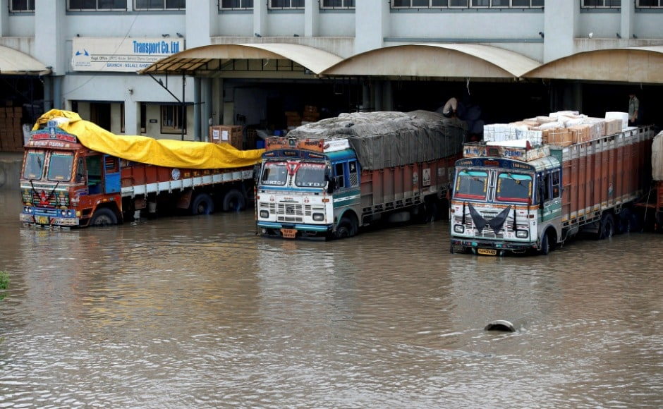 Gujarat floods claim 213 lives, Congress MLAs 'relax' in Bengaluru