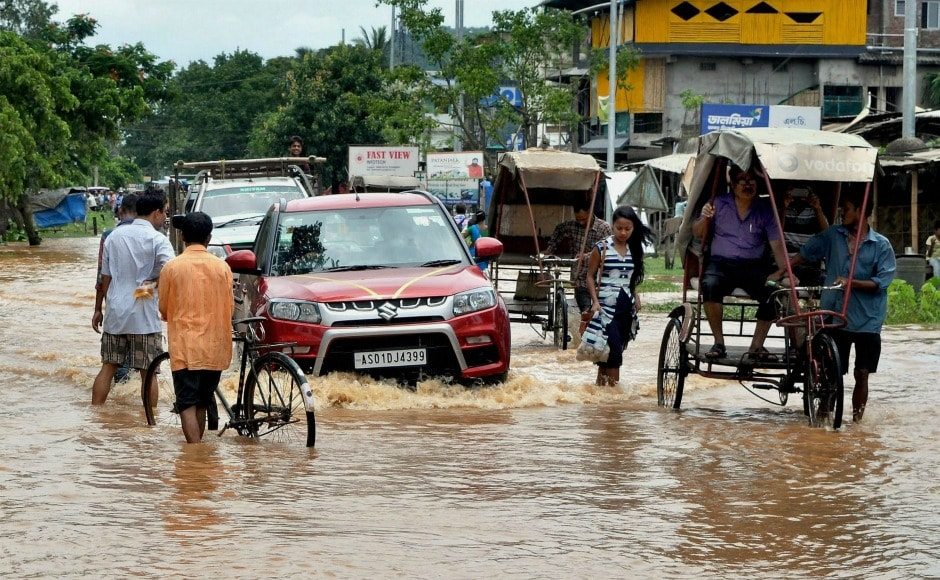 With the advent of Southwest Monsoon, Indian is experiencing heavy rains. PTI